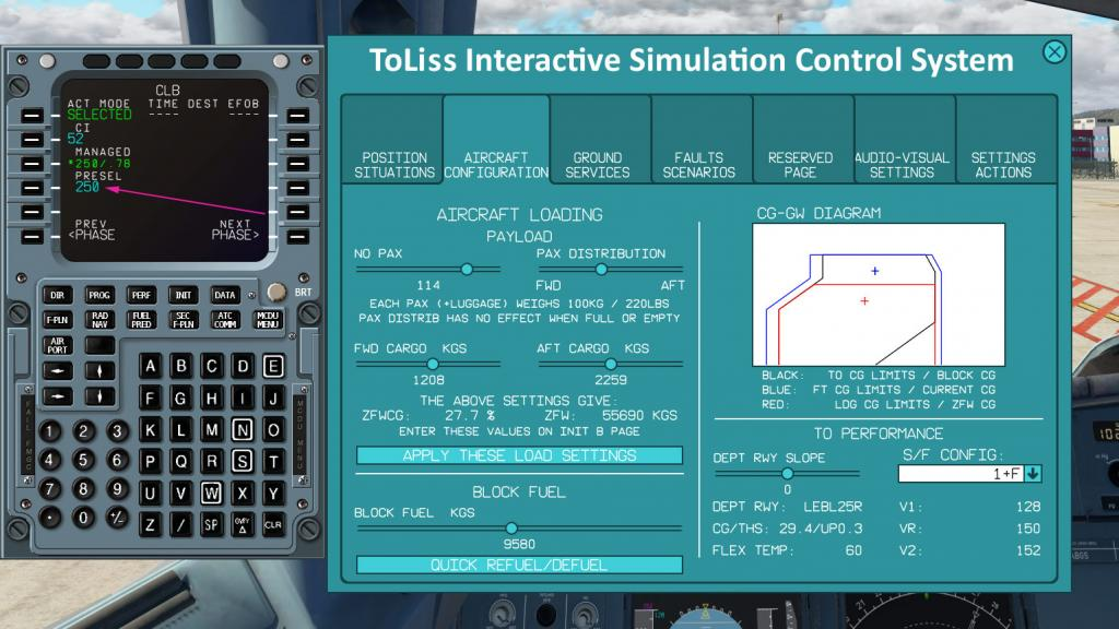 Aircraft Review : ToLiSS319 (A319-122) by ToLiSS - Airliners Reviews