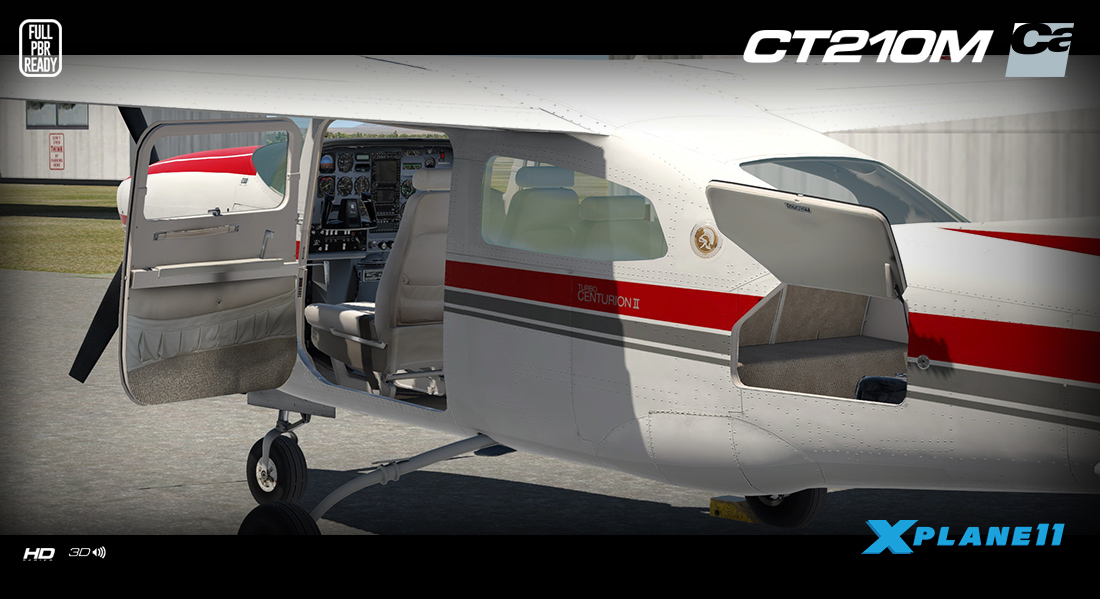 News! - Aircraft Released : CT210M Centurion ll XPlane11 by