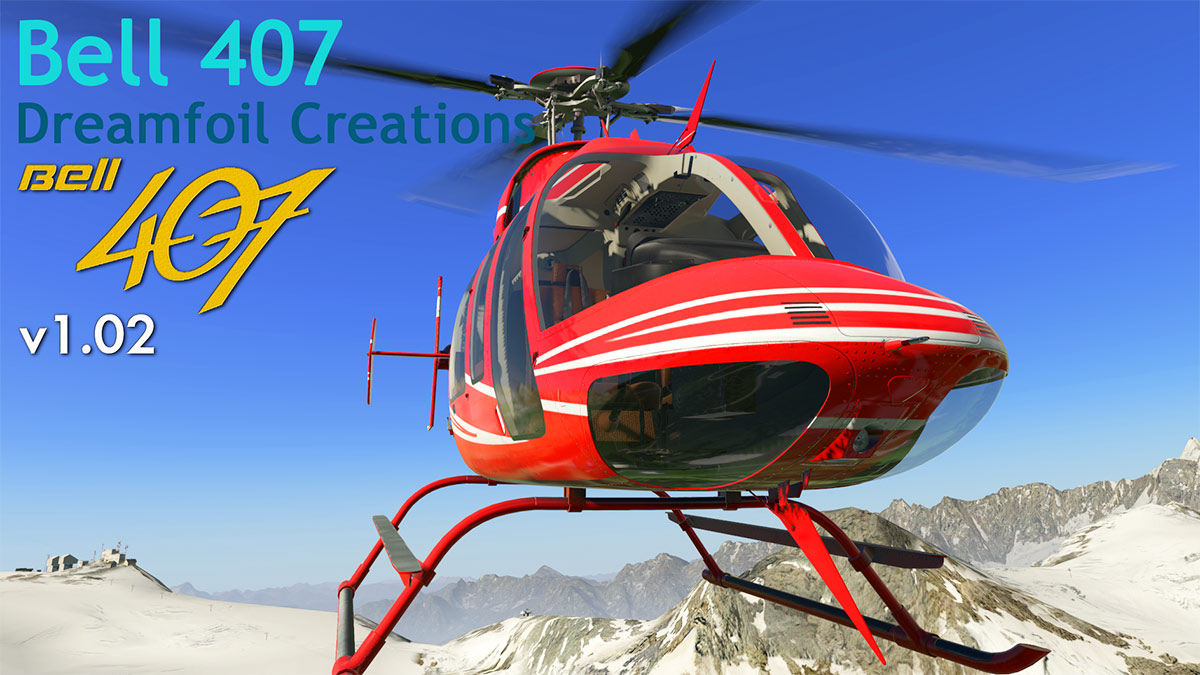 Aircraft Update : Bell 407 XP11 v1 02 by Dreamfoil
