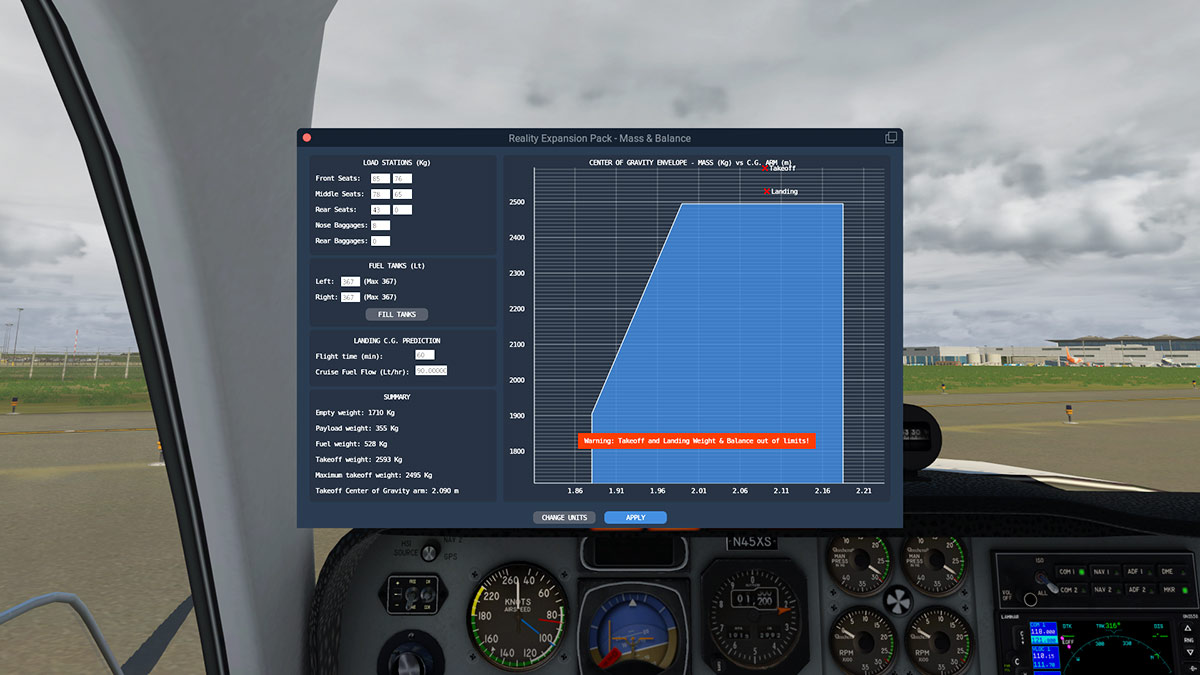 Aircraft Plugin Review : REP for Default B58 Baron by