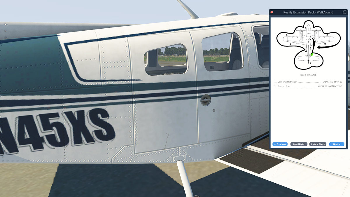 Aircraft Plugin Review Rep For Default B58 Baron By