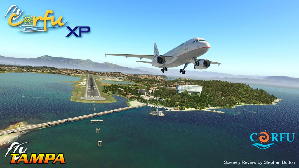 Scenery Review : FlyCorfu XP by FlyTampa - Payware Airports