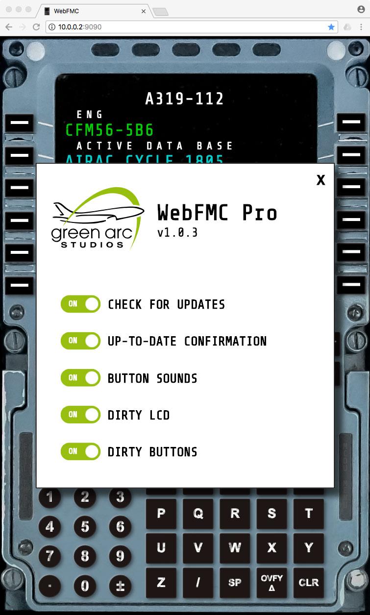Plugin Review : WebFMC Pro by Green Arc Studios - X-Plane