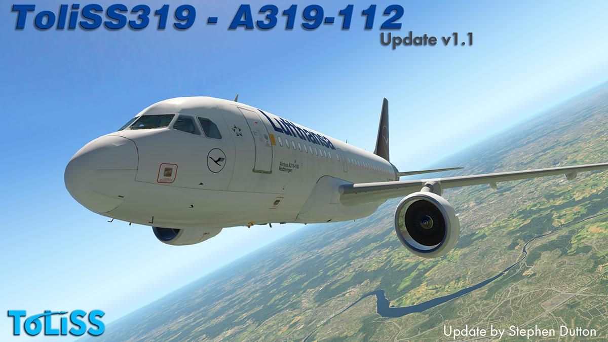 Aircraft Update : ToLiSS319 v1 1 by ToLiSS - Airliners