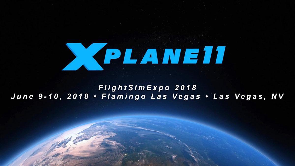 Laminar Research : FlightSimExpo 2018 X-Plane Roadmap - X-Plane11
