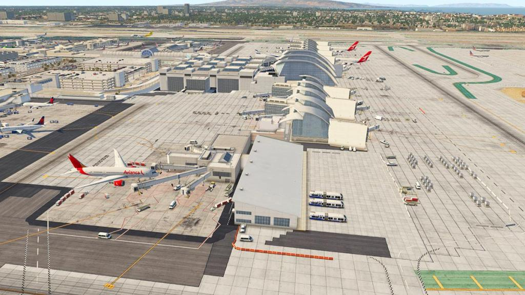 Scenery Review : KLAX HD Los Angeles International v1 1 by