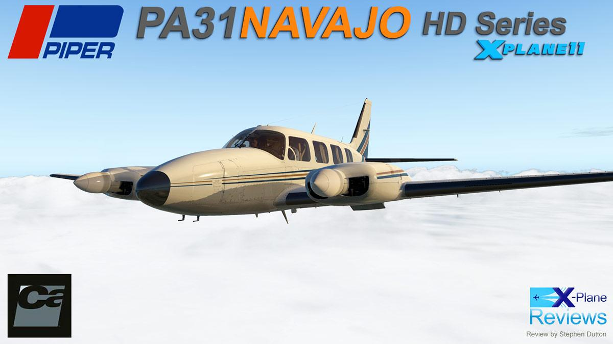 Aircraft Review : PA-31 Navajo XP11 HD Series by Carenado - General