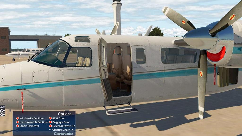 Aircraft Review : 690B Turbo Commander by Carenado - General