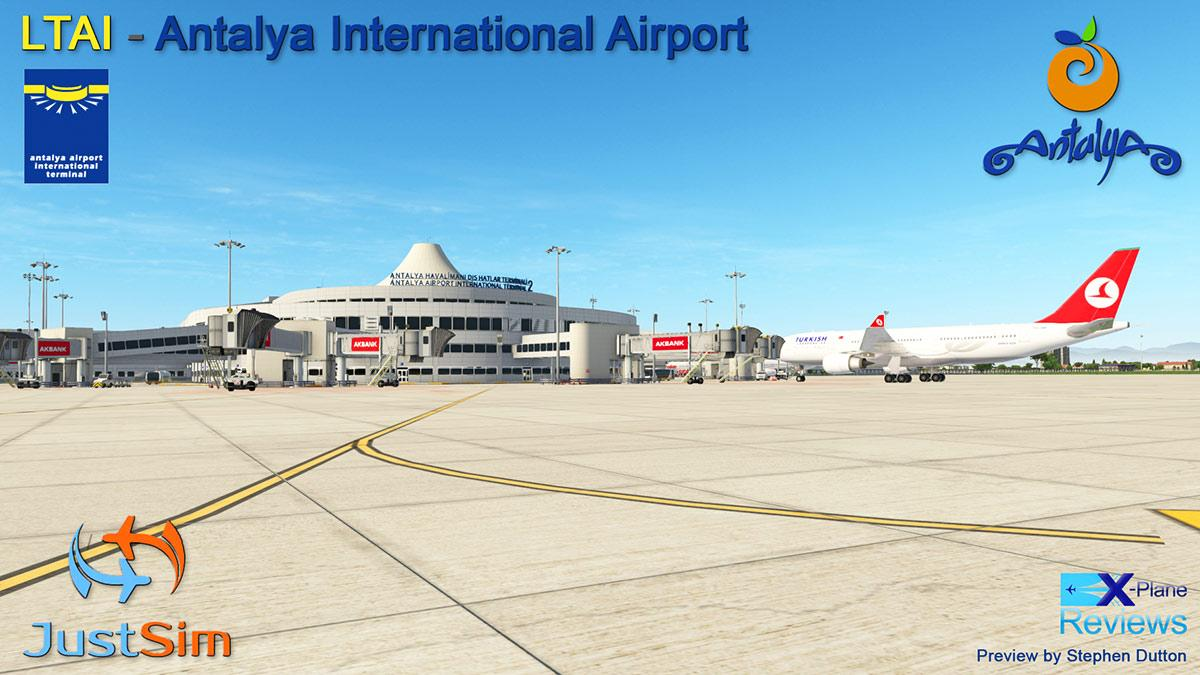 Preview: LTAI - Antalya International Airport by JustSim
