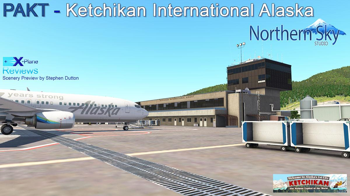 Scenery Preview : PAKT - Ketchikan International Alaska by