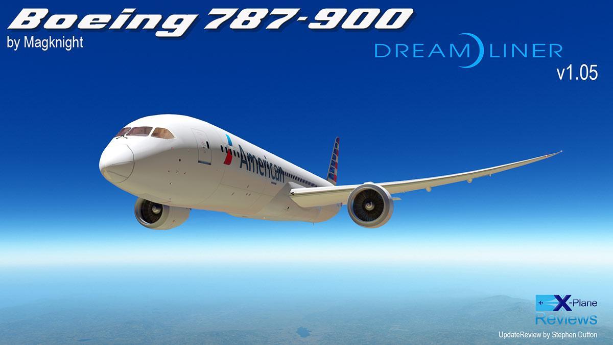 Boeing 787 livery x plane