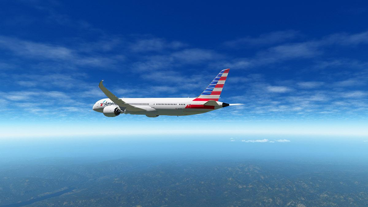 Aircraft Update : Boeing 787-900 v1 05 by Magknight