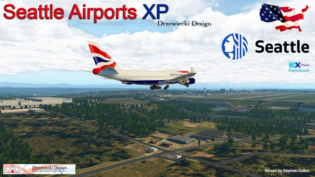 Scenery Review : Seattle Airports XP by Drzewiecki Design