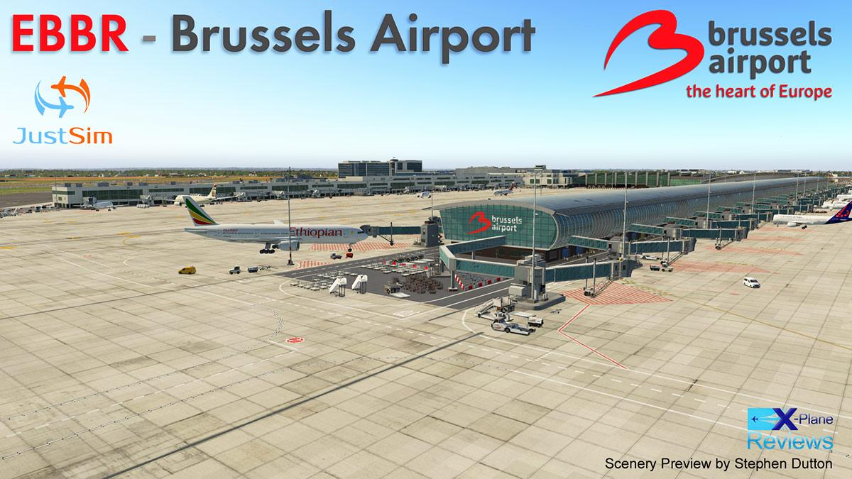 Scenery Review - EBBR Brussels Airport by JustSim - Payware