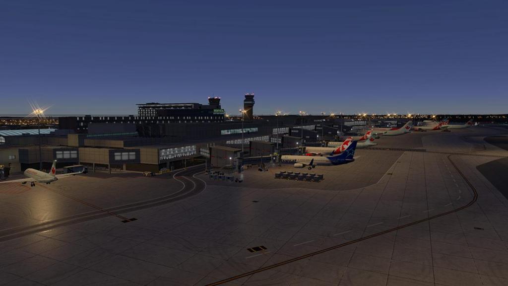 CYUL - Montreal Terminal lighting 6.jpg