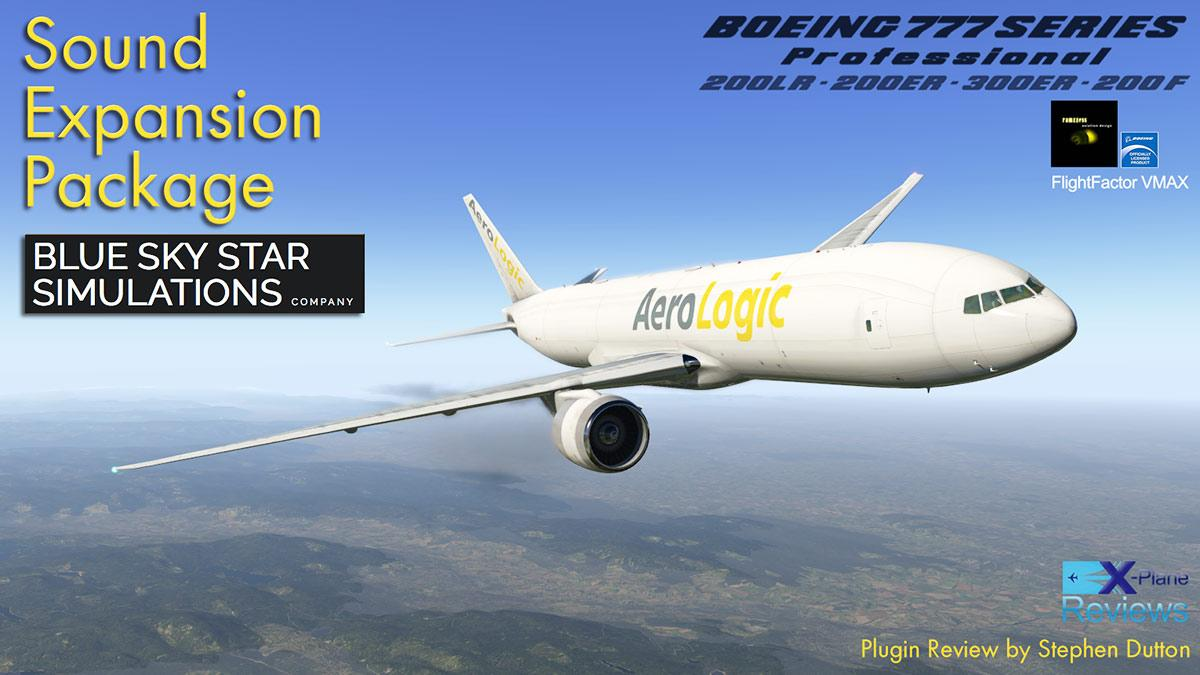 Plugin Review : BSS Sounds for the FlightFactor-VMax Boeing