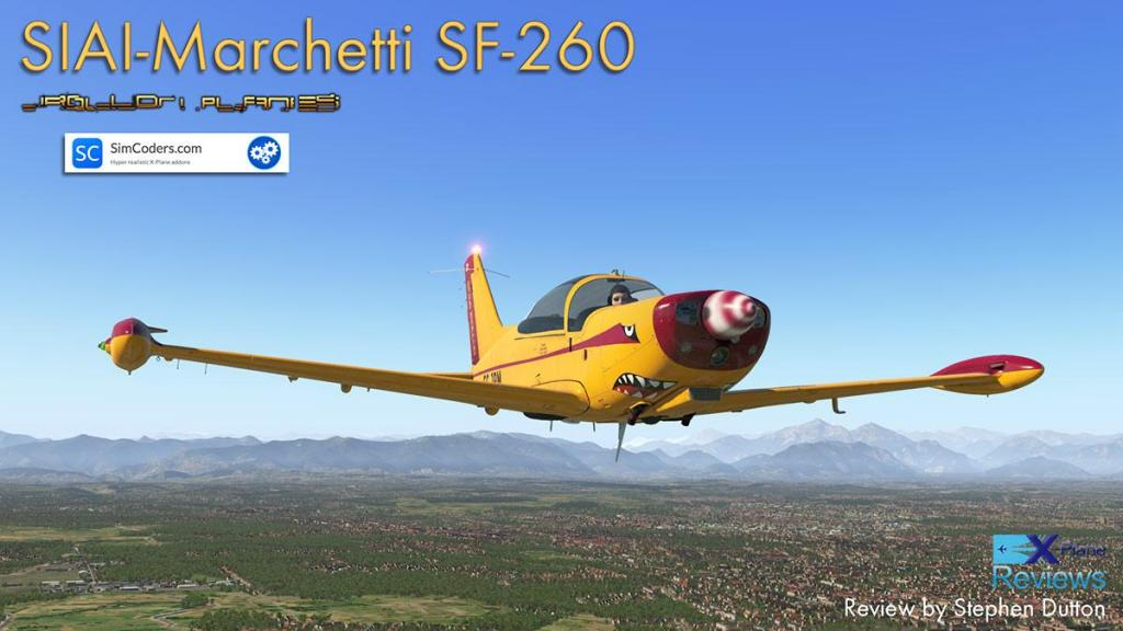 aircraft review siai marchetti sf 260 by jrollon and simcoders rh xplanereviews com