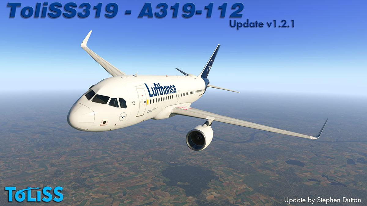 Aircraft Update : ToLiSS319 v1 2 by ToLiSS - Airliners