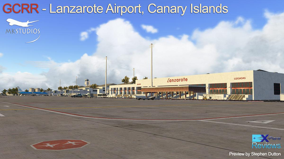 Scenery Preview: GCRR Lanzarote, Canary Islands by MK Studios