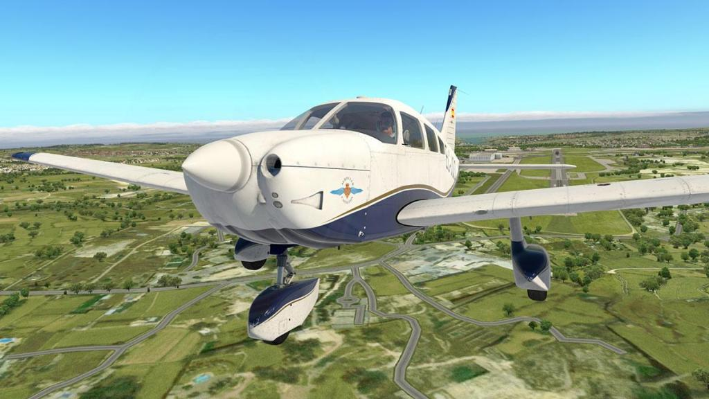 Aircraft Review : PA-28-181 Archer III by JustFlight and