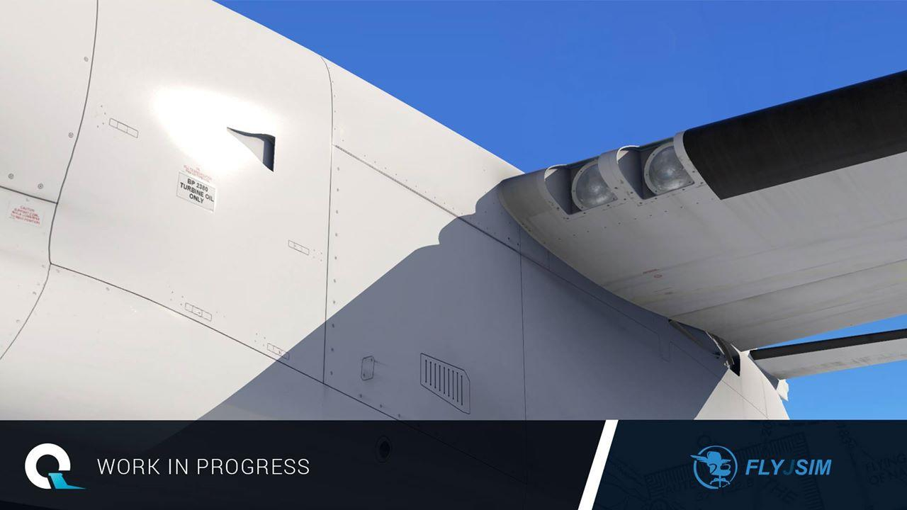 News! - In Development : FlyJSim Dash Q400 - Q4XP Images - News! The