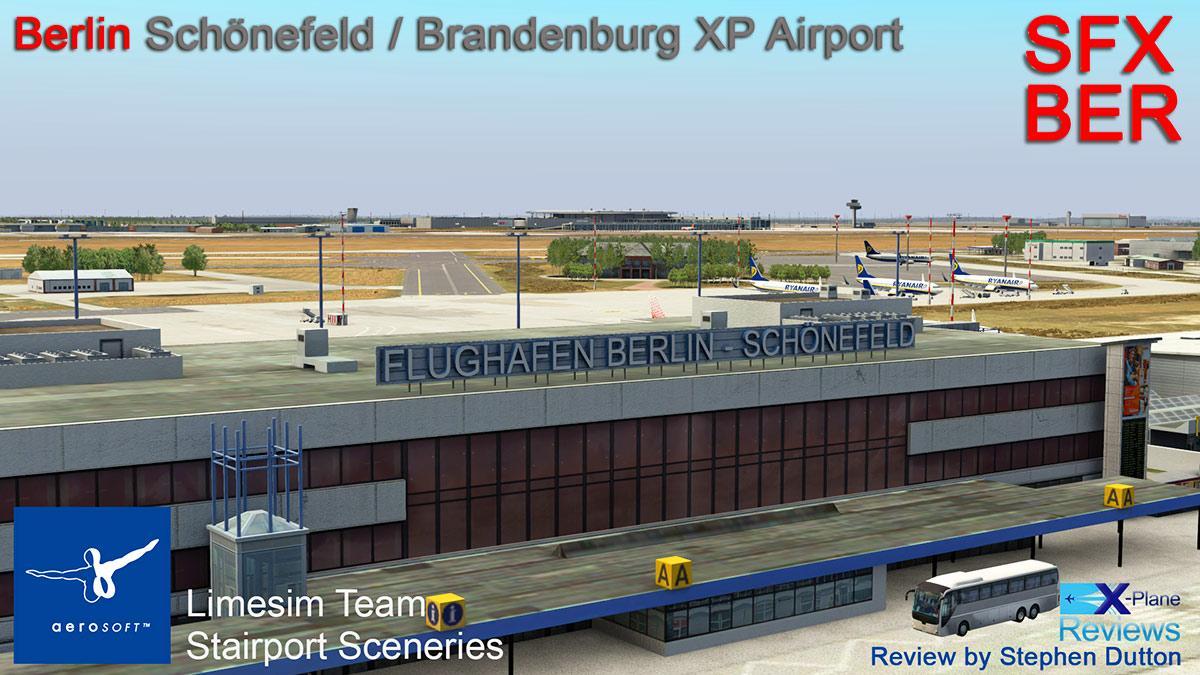 Scenery Review : Berlin-Brandenburg XP by Aerosoft - Payware