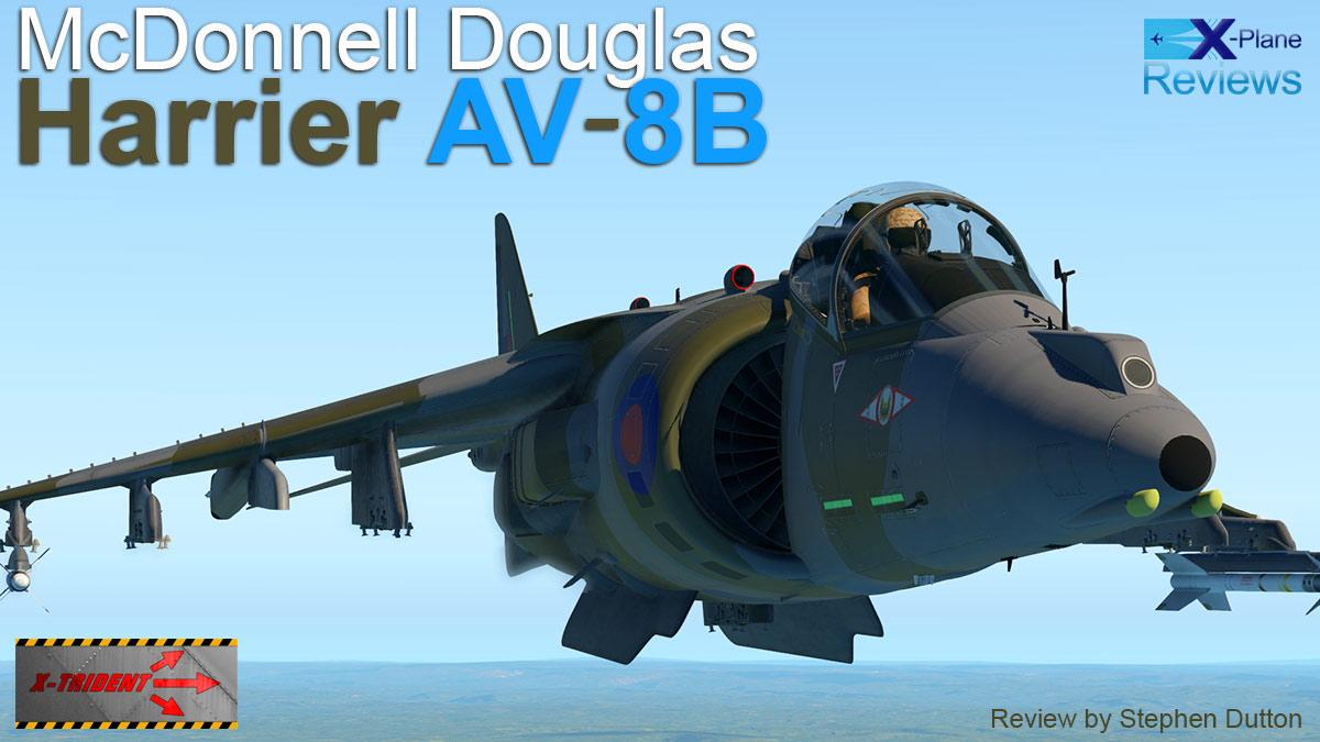 Aircraft Review : McDonnell Douglas Harrier AV-8B by X