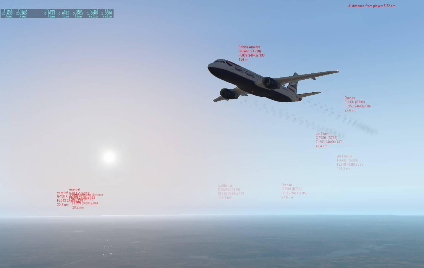 News! - In Development : Traffic Global by Just Flight