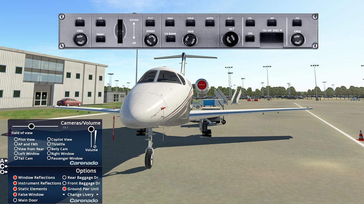 Aircraft Review : 390 Premier 1A XP11 by Carenado - General Aviation
