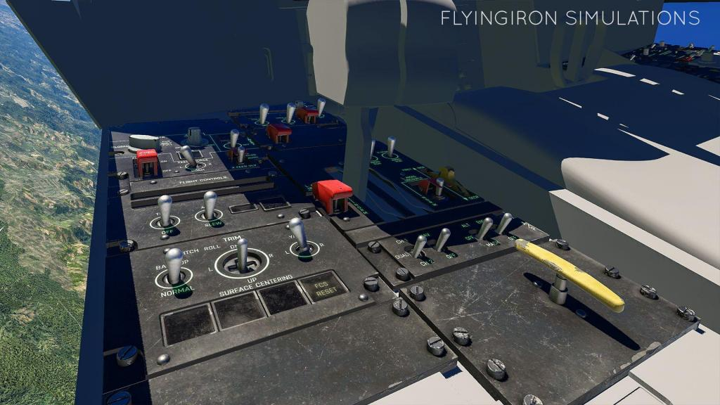 In Development : F117 NightHawk By Flying Iron