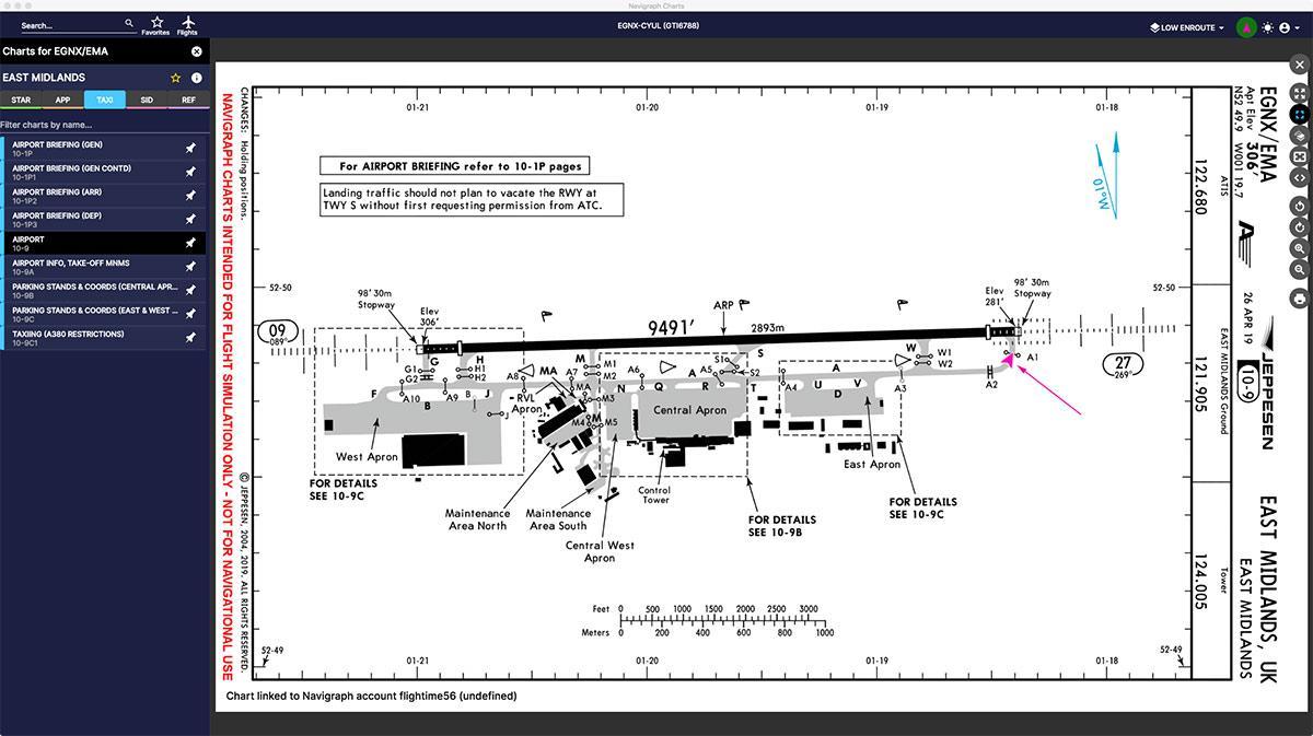 Application Upgrade : Navigraph Charts v7 0 - X-Plane