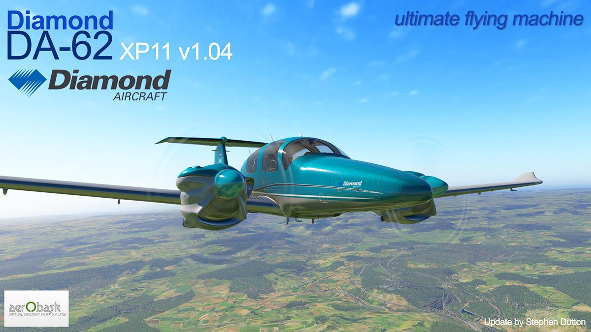 Aircraft Update : Diamond DA62 XP11v1 04 by Aerobask