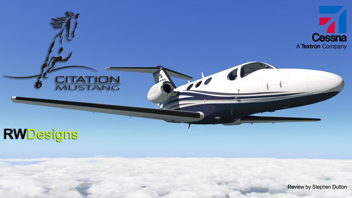 Aircraft Review Cessna Citation Mustang By Rwdesigns