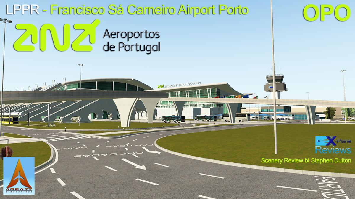 Scenery Review : LPPR - Porto Airport Portugal by Area77