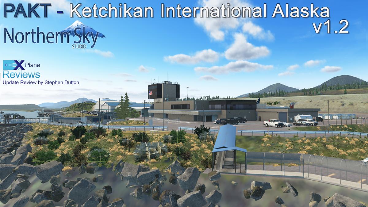 Scenery Update Pakt Ketchikan International Alaska V1 2 By Northernskystudio Payware Airports And Scenery Reviews X Plane Reviews